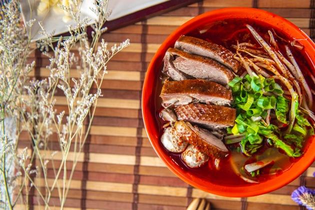 麻辣鴨肉泡飯 1
